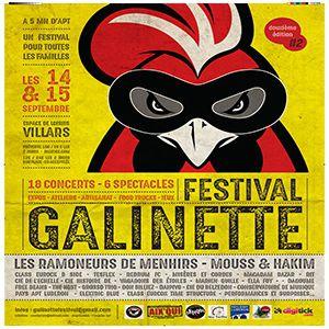 FESTIVAL LA GALINETTE - LES RAMONEURS DE MENHIRS + 1ères parties