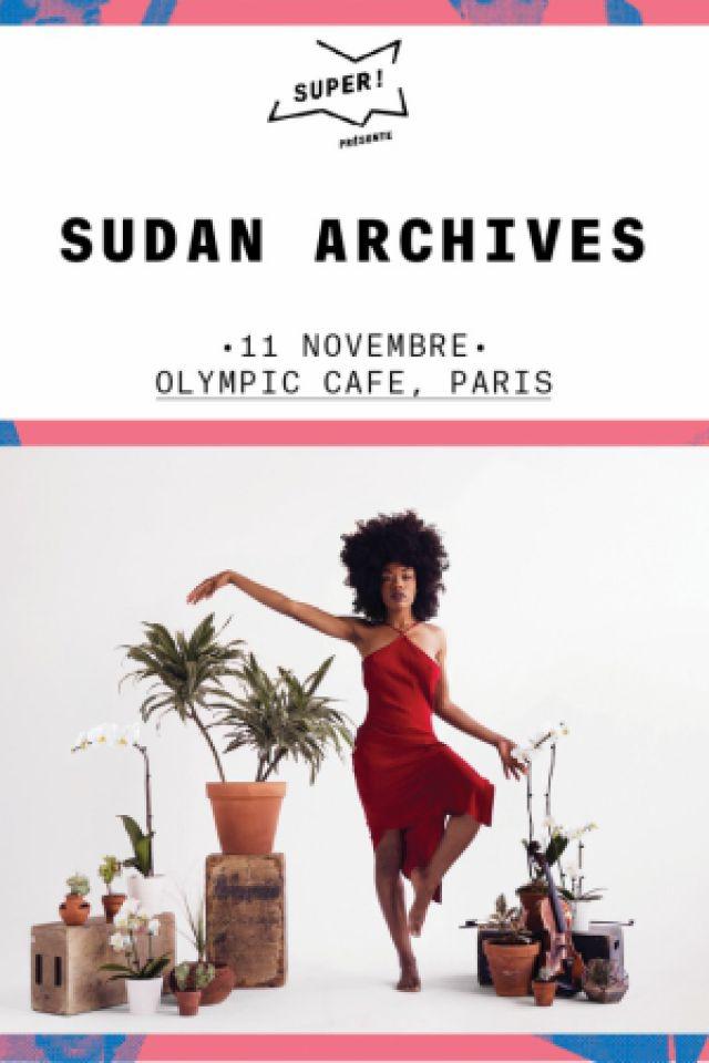 SUDAN ARCHIVES @ L'OLYMPIC CAFE - PARIS