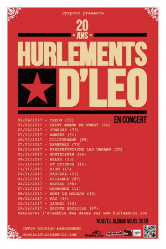 LES HURLEMENTS D'LEO @ LE GUEULARD PLUS - NILVANGE