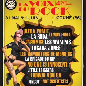 Festival La Voix Du Rock - Samedi 1Er Juin 2019