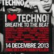 Festival I LOVE TECHNO FRANCE 2013 à MONTPELLIER @ PARC DES EXPOSITIONS - Billets & Places