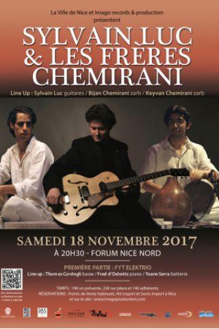 Concert Sylvain Luc & Les frères Chemirani à NICE @ Forum Nice Nord - Billets & Places