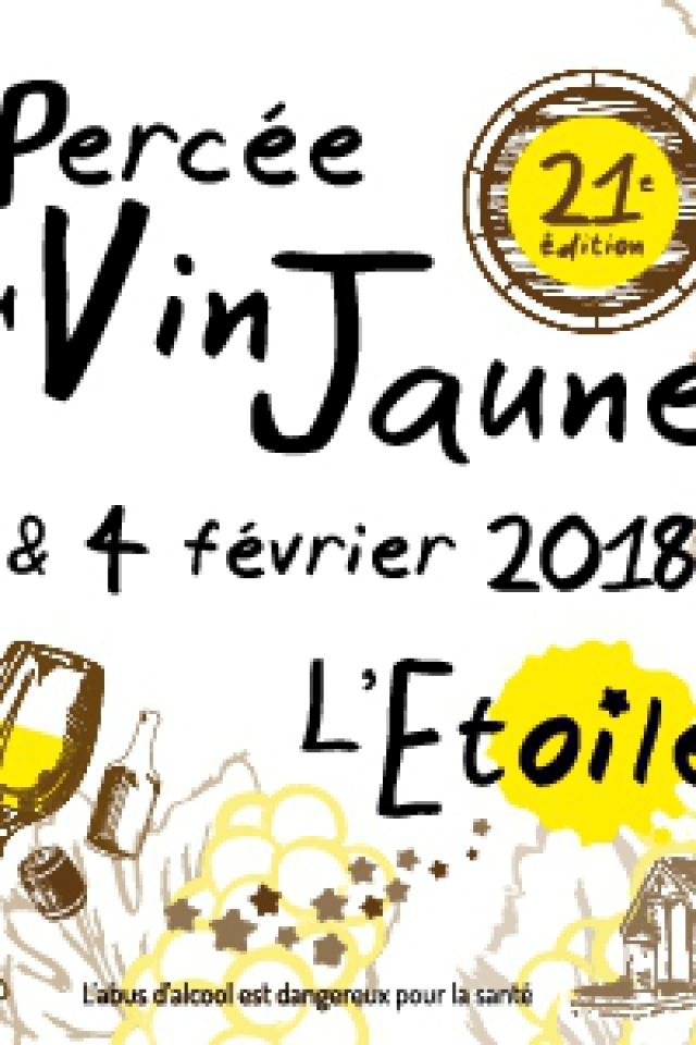 PERCEE DU VIN JAUNE 2018 / PASS WEEK-END @ PLEIN AIR - L'ÉTOILE
