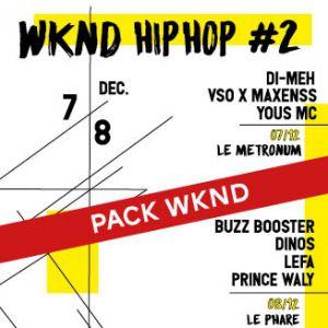 PACK WKND @ Le Phare + Metronum - TOULOUSE