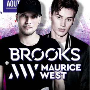 Brooks & Maurice West @ Amnesia