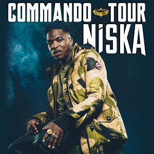 """NISKA """"COMMANDO TOUR"""" @ Les Arènes - LE GRAU DU ROI"""