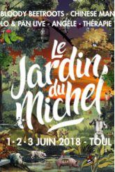 FESTIVAL LE JARDIN DU MICHEL 2018 - PASS 3 JOURS