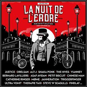 FESTIVAL LA NUIT DE L'ERDRE - PASS 3 JOURS @ PARC DU PORT MULON - NORT SUR ERDRE