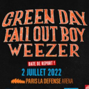 Green Day - Fall Out Boy - Weezer