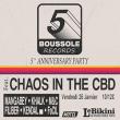 Concert Boussole 5 Anniversary Party ft. CHAOS IN THE CBD à RAMONVILLE @ LE BIKINI - Billets & Places