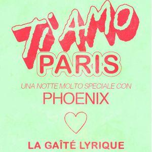 PHOENIX - TI AMO PARIS avec Dodi El Sherbini et Pop X @ La Gaîté Lyrique - Paris