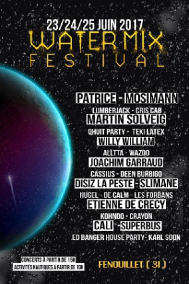 Water Mix Festival - WaterPass 1 jour samedi à FENOUILLET @ Lac du Bocage - Billets & Places