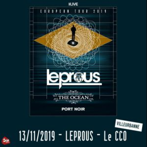 Leprous + The Ocean + Port Noir