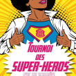 Spectacle TOURNOI DES SUPER HEROS LA REVANCHE