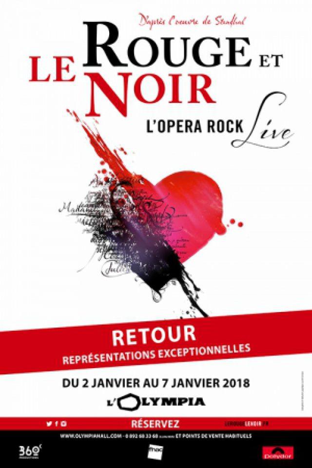 LE ROUGE ET LE NOIR @ L'Olympia - Paris