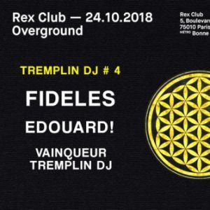 OVERGROUND @ Le Rex Club - PARIS