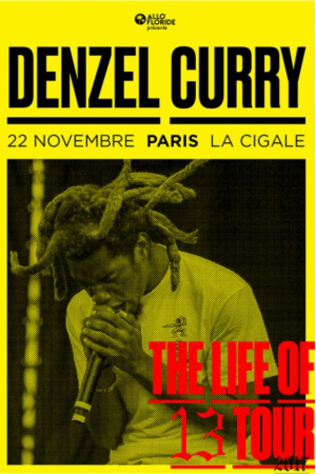 Denzel Curry @ La Cigale - Paris