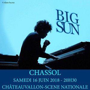 """CHRISTOPHE CHASSOL """"BIG SUN"""" @ CHÂTEAUVALLON - SCÈNE NATIONALE - OLLIOULES"""