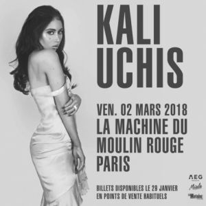 Kali Uchis @ La Machine du Moulin Rouge - Paris