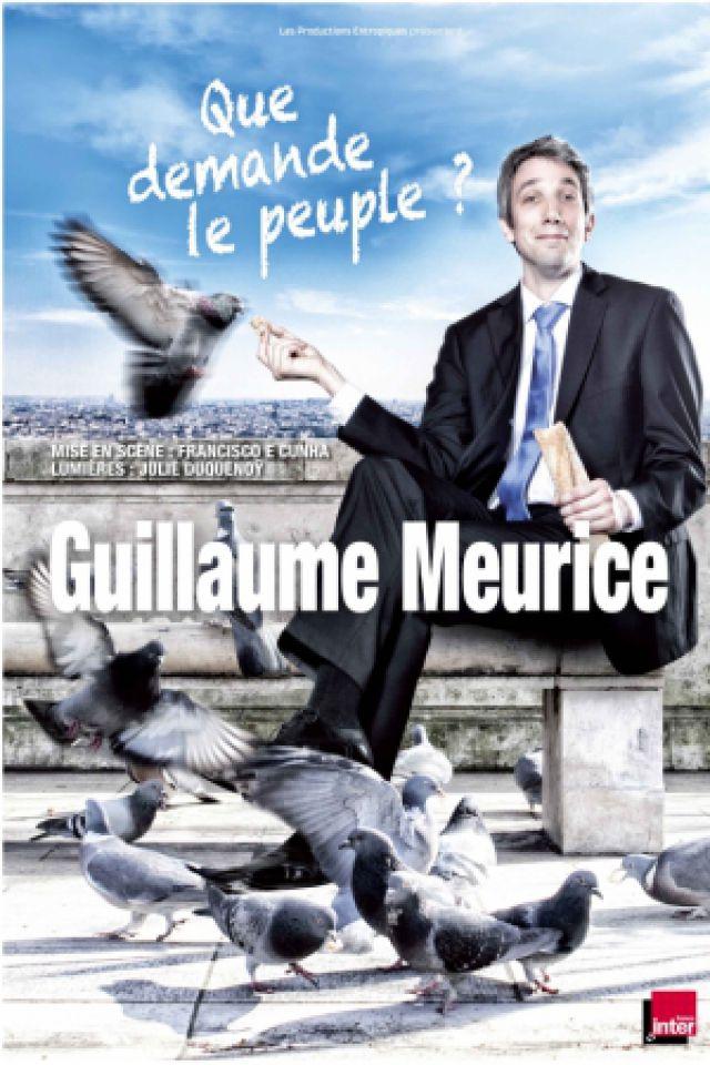 """Guillaume Meurice : """"Que demande le peuple?"""" @ Espace des Vallons du Lyonnais - VAUGNERAY"""