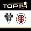 Match CA BRIVE - STADE TOULOUSAIN