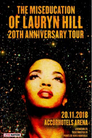 Billets MS.LAURYN HILL - ACCORHOTELS ARENA
