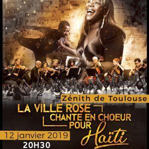 La Ville Rose Chante En Choeur Pour Haïti
