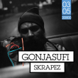 Concert GONJASUFI + SKRAPEZ à PARIS @ Badaboum - Billets & Places