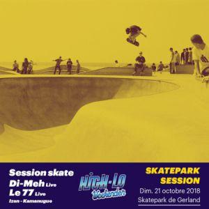 Billets DI-MEH, LE 77, IZEN, KAMANUGUE - Skatepark de Lyon
