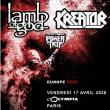 Concert LAMB OF GOD x KREATOR à Paris @ L'Olympia - Billets & Places