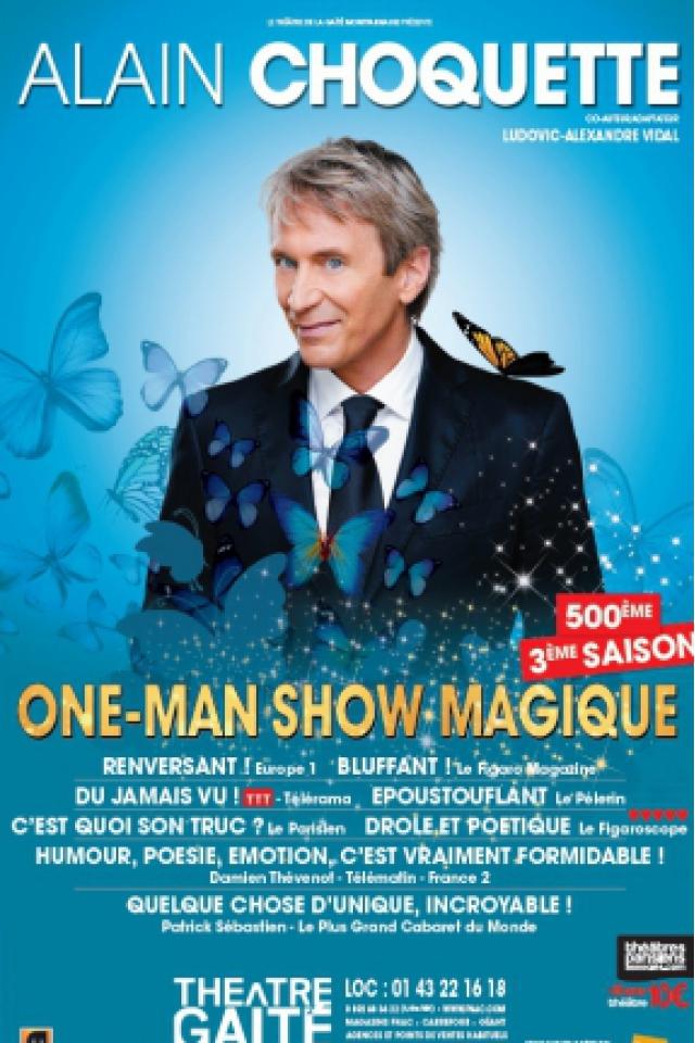 ALAIN CHOQUETTE @ La Chaudronnerie - Salle Michel Simon - LA CIOTAT