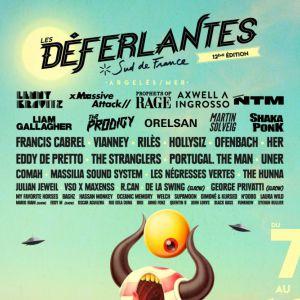 DEFERLANTES 2018 / PASS 2 JOURS / 08+10 JUILLET 2018 @ PARC DE VALMY - ARGELES SUR MER