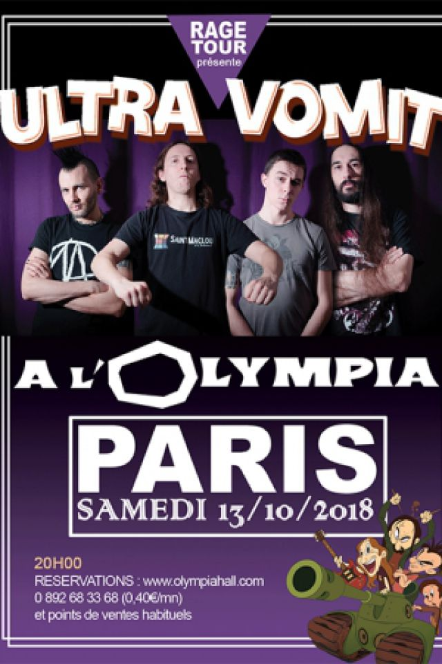 ULTRA VOMIT  @ L'Olympia - Paris