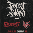 Concert FOREST IN BLOOD + ERUPDEAD + BLOOD REIGN à COLMAR @ Le GRILLEN - Billets & Places