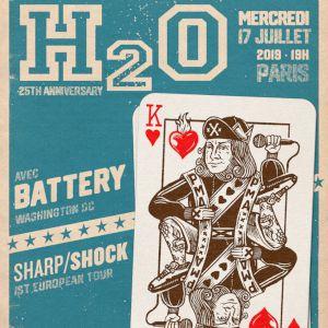 H2o + Battery + Sharp/Shock