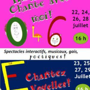 Chantez Voyelles @ Théâtre des Grands Enfants - Petit Théâtre - CUGNAUX