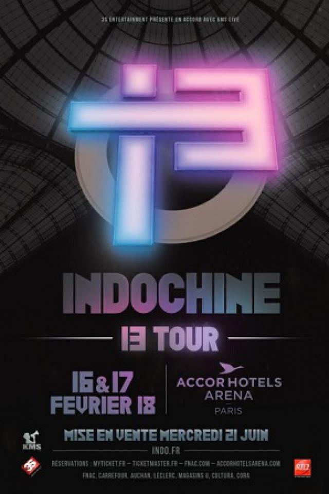 INDOCHINE @ ACCORHOTELS ARENA - PARIS 12