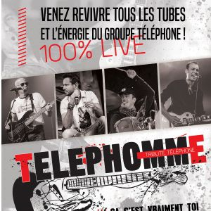 Telephomme - 100% Live
