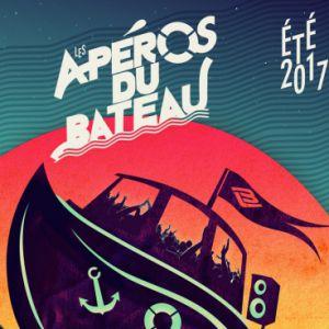 Apéro du bateau 12 août  DJ James(NTM) VS DJ Daz(IAM)  @ Bateau l'Ilienne - MARSEILLE