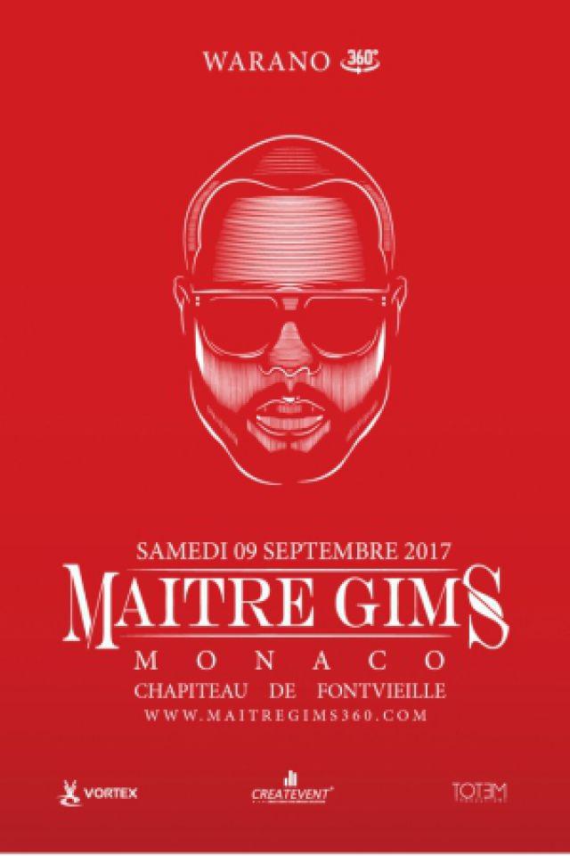 MAITRE GIMS @ CHAPITEAU FONTVIELLE - Monaco