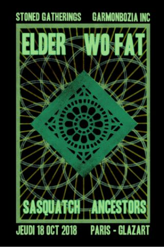 Concert ELDER / WO FAT + SASQUATCH + ANCESTORS