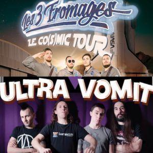 ULTRA VOMIT + LES TROIS FROMAGES @ L'Usine - Istres