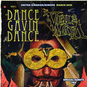 DANCE GAVIN DANCE + VEIL OF MAYA + THOUSAND BELOW @ Le Backstage by The Mill - Paris