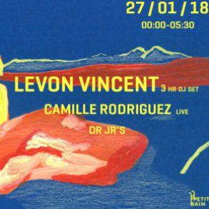 Sourdoreille présente Levon Vincent, Camille Rodriguez, Dr Jr's @ Petit Bain - PARIS