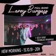 Concert LEROY BURGESS FULL BAND à Paris @ New Morning - Billets & Places