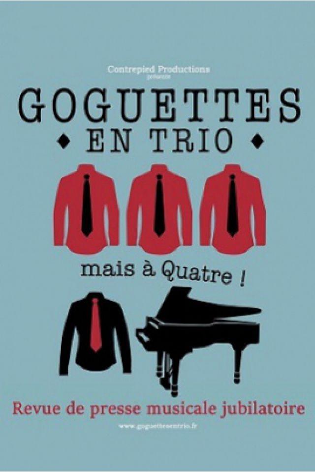 Les goguettes en trio (mais à quatre) ! @ Théâtre Trévise - Paris