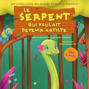 Le Serpent Qui Voulait Être Artiste