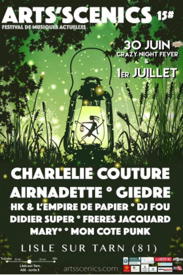 Festival Arts Scenics - Pass 2 Jours @ plein air - LISLE SUR TARN