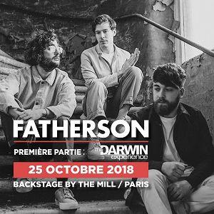 FATHERSON @ Le Backstage - Paris