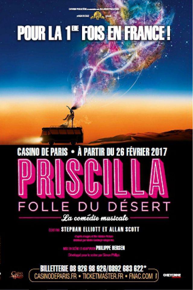 PRISCILLA FOLLE DU DESERT   @ Casino de Paris - Paris